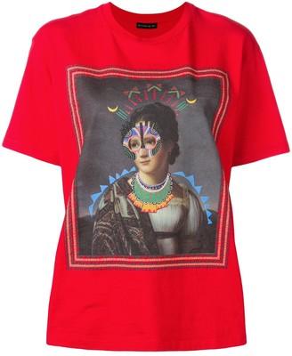 Etro Painting print T-shirt