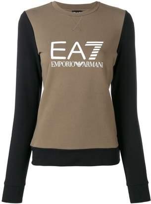 Emporio Armani (エンポリオ アルマーニ) - Ea7 Emporio Armani ロゴプリント スウェットシャツ