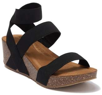 Madden-Girl Zoeyy Cork Wedge Sandal