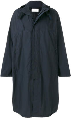 Lemaire long hooded coat
