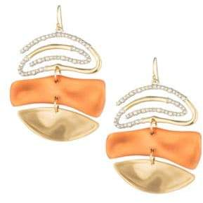 Alexis Bittar Roxbury Muse Spiral Mobile Earrings