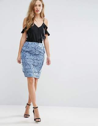 French Connection Manzoni Lace Skirt
