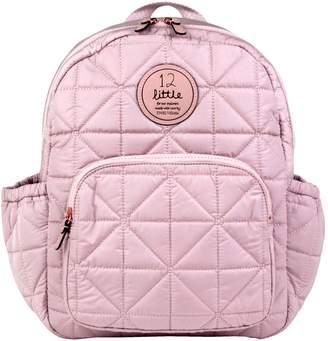 TWELVElittle 'Companion Backpack' Quilted Nylon Diaper Bag