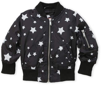 Urban Republic Infant Girls) Star Bomber Jacket