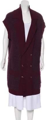 St. John Long Wool Cardigan