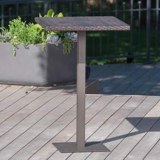 Bronx Ivy Crater Outdoor Bar Table