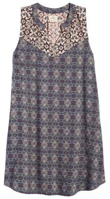 O'Neill Gina Mixed Print Dress