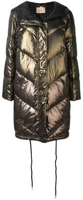 Twin-Set long puffer jacket