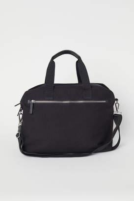 H&M Canvas Weekend Bag - Black