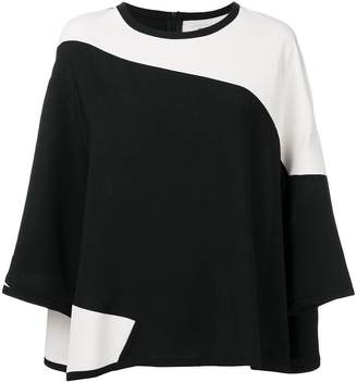 7e13e8ff93a2 at Farfetch · Henrik Vibskov Fab colour-block blouse