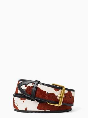 Kate Spade Western leather belt