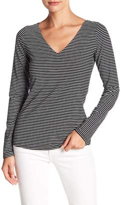 Fate Strappy Striped Long Sleeve Tee