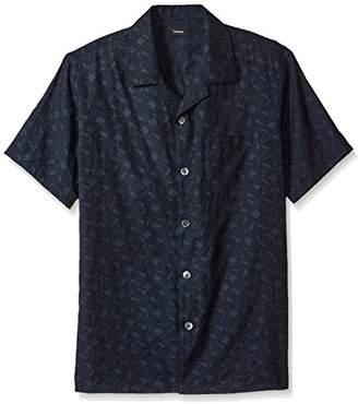 Theory Men's Havana Shirt.Geo Jac