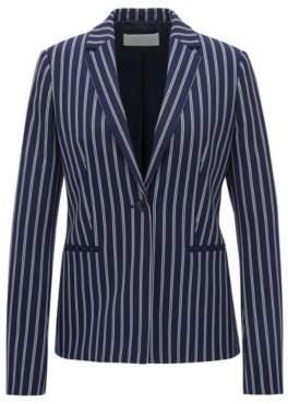 BOSS Hugo Striped Blazer Jebella 4 Patterned