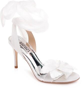 Badgley Mischka Collection Almira Ankle Tie Sandal