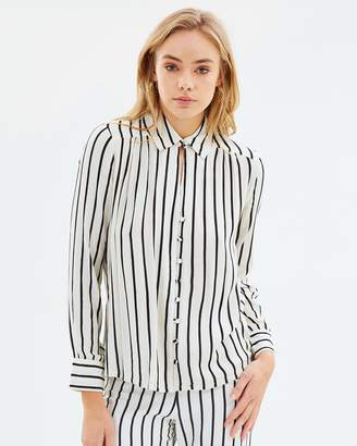 Amuse Society Quiet Lights Woven Shirt
