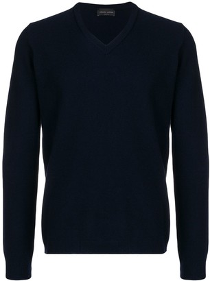 Roberto Collina fine knit V-neck sweater