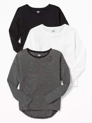 Old Navy Softest Drop-Shoulder Tee 3-Pack for Girls