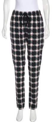 Markus Lupfer Silk Straight-Leg Pants w/ Tags