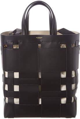 Burberry Medium Foster Leather Tote