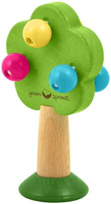 I Play Green Sprouts by Natural Wood Tree Rattle