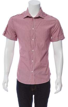 Just Cavalli Striped Short Sleeve Shirt