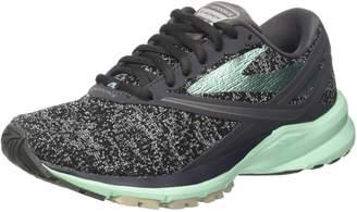Brooks Women's Ghost 10 Microchip/White/Metallic Charcoal Running Shoe 7 Women US