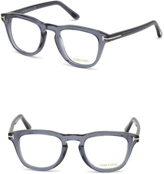 Tom Ford 49mm Round Optical Glasses