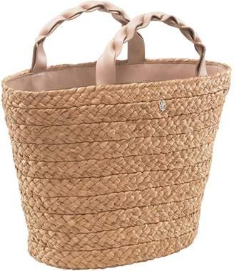 Helen Kaminski Small Woven Raffia Market Basket