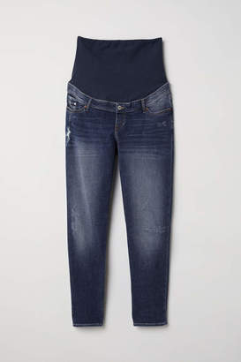 H&M MAMA Boyfriend Jeans - Denim blue - Women