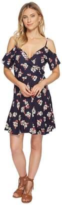 Angie Cold Shoulder Wrap Dress Women's Dress