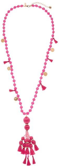 Kate SpadeKate Spade New York - Pretty Poms Tassel Pendant Necklace Necklace