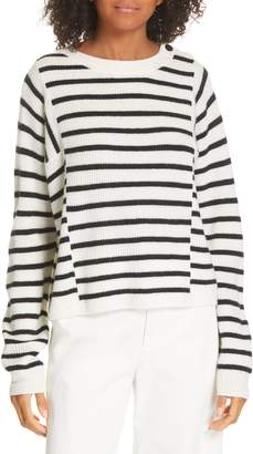 Vince Mixed Stripe Sweater