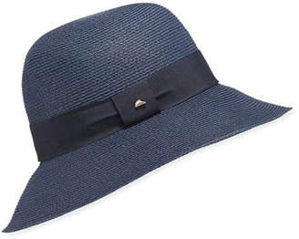 af19c06244c Cloche Frasconi Paper Braid w  Ribbon Hat Band