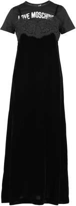 Love Moschino Velvet Dress