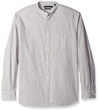 French Connection Men's Jeans Zeper Melange Shirt