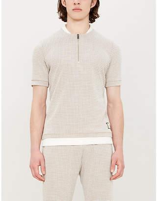 PREVU Medina dogtooth woven T-shirt