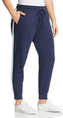 Andrew Marc Plus Side-Stripe Sweatpants
