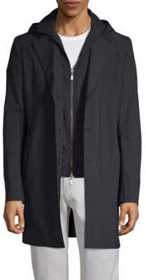 Saks Fifth Avenue Classic Hooded Coat
