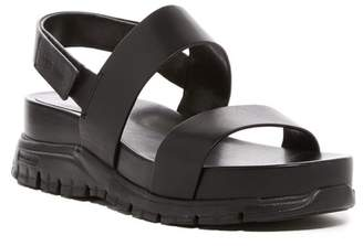 Cole Haan Zerogrand Platform Leather Sandal