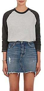 NSF Women's Harley Cotton-Blend Raglan T-Shirt-Light Gray