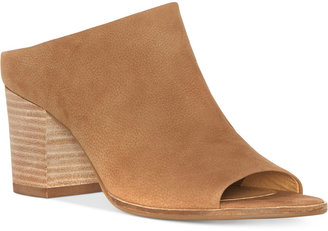 Lucky Brand Women's Organza Block-Heel Mules Women's Shoes