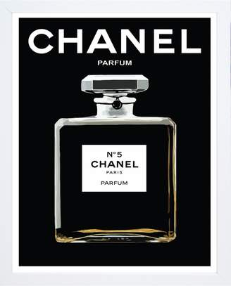 Chanel Black Print With Frame