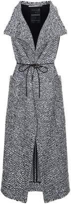 Roland Mouret Lodge Boucle Sleeveless Coat