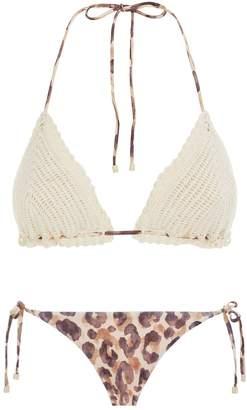 Zimmermann Melody Crochet Bikini