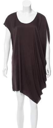 Helmut Lang Asymmetrical Midi Dress