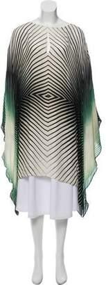 Tamara Mellon Silk Poncho