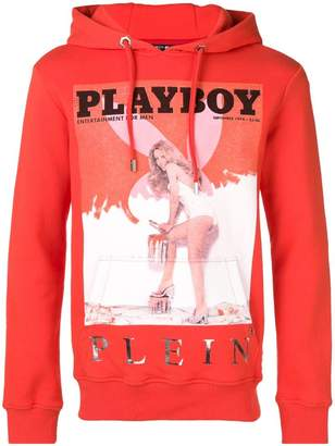 Philipp Plein Playboy printed hoodie