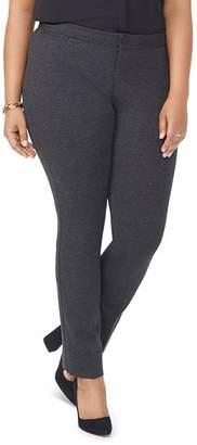 NYDJ Plus Straight-Leg Pants