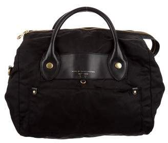 Marc by Marc Jacobs Leather-Trim Satchel